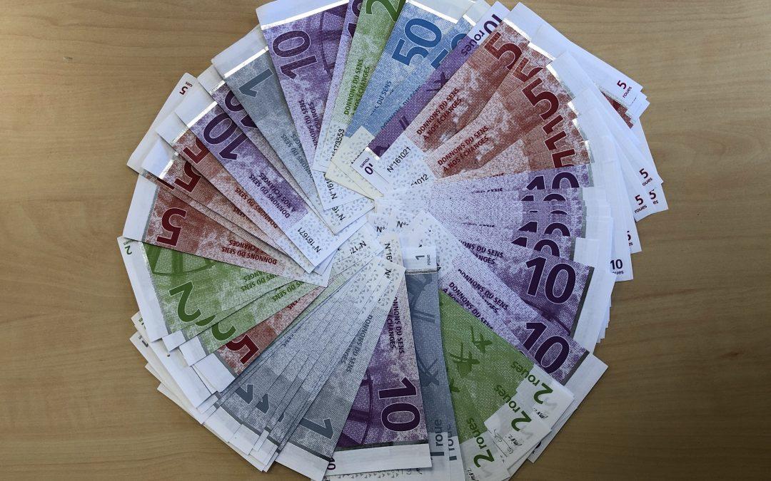 La Roue; notre monnaie locale.