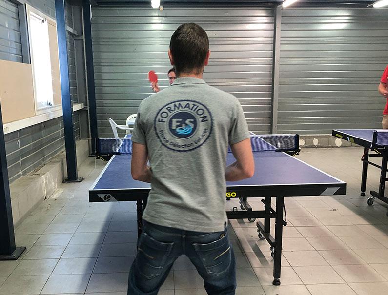 Les tournois de ping-pong