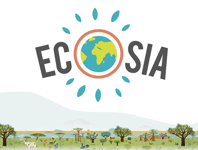 Moteur de recherche Ecosia
