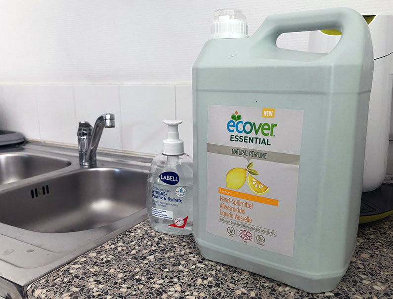 Ecolo jusqu'au savon !