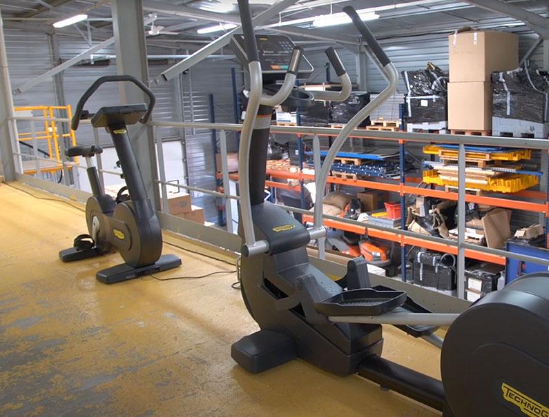 Des machines de sport chez FDS